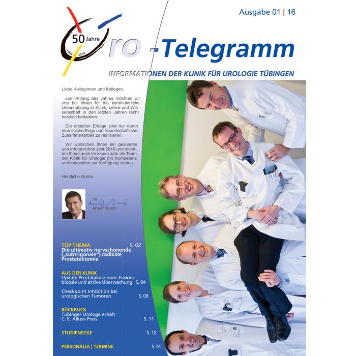 Uro-Telegramm 01| 2016