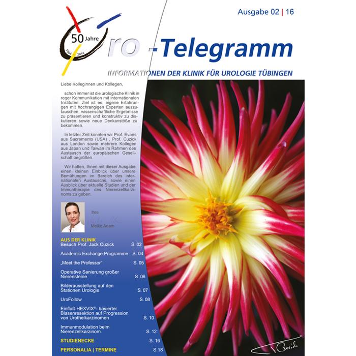 Uro-Telegramm 02| 2016
