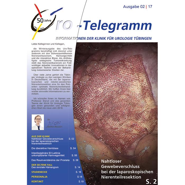 Uro-Telegramm 02| 2017