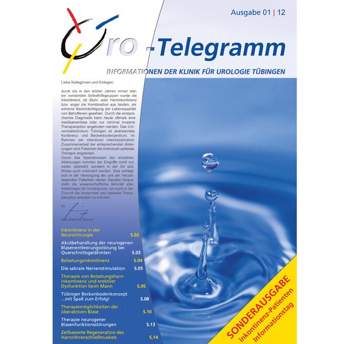 Uro-Telegramm 01| 2012